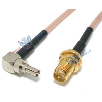 Антенный адаптер SMA реверс - CRC9 (пигтейл)