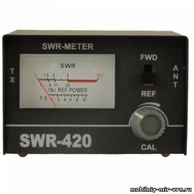 КСВ метр SWR 420 27 МГц