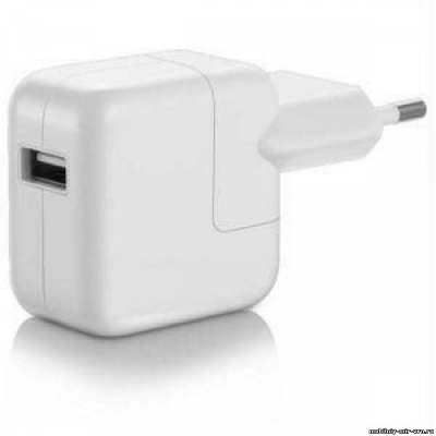 Адаптер (блок питания) 220 В - USB для зарядки Android/iOS устройств