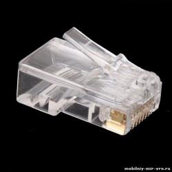 RJ-45 разъем для LAN кабеля (патч-корда)
