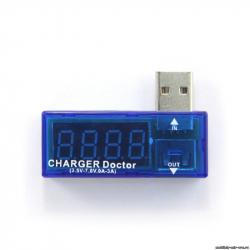 Измеритель силы тока и напряжения USB Charger Doctor