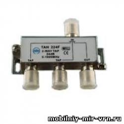 Ответвитель на 2 отвода TS 401 27дБ