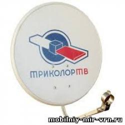 Антенна (тарелка) спутниковая офсетная АУМ CTB-0.55-1.1 0.55 605 Logo St с лого Триколор
